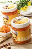 《臻品周氏泡菜 黃金泡菜系列》-『黃金高麗菜/500g』- 獨特黃金醬帶出高麗菜的甜脆口感