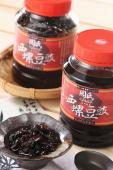 《臻品周氏泡菜》-『周氏蔭油豆鼓』《原味/辣味》 嚴選黑豆 傳統工法釀造